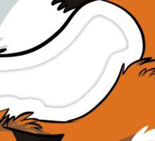 Dead Fox Sticker