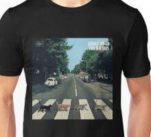 Abbey Road Kitties Unisex T-Shirt
