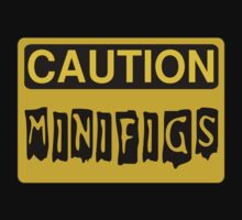 Caution Minifigs Sign by Customize My Minifig by ChilleeW