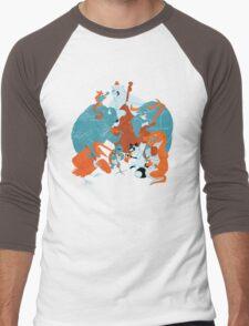 Hootenanny  Men's Baseball ¾ T-Shirt