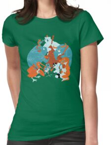 Hootenanny  Womens Fitted T-Shirt