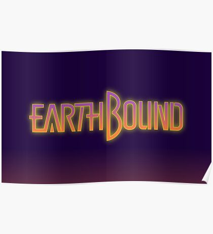 Earthbound text Poster