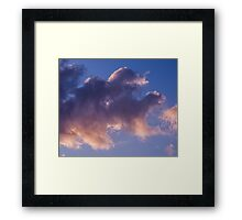 Sky serpent Framed Print