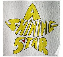 A shining star Poster