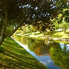 Hythe Royal Military Canal by Antoinette B