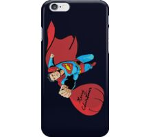 Superman Give Christmas Gift iPhone Case/Skin