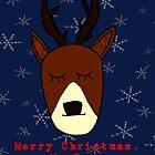 Merry Christmas, My Deer by flockadoodle