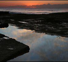 Beach Sunrise by kcy011
