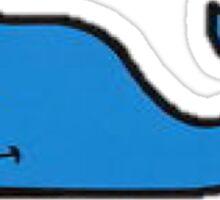 Blue Sticker
