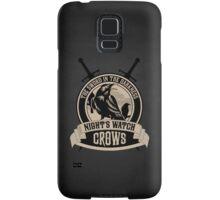 Night's Watch Crest with Swords iPhone Case Samsung Galaxy Case/Skin