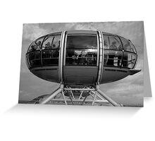 London Eye capsule Greeting Card