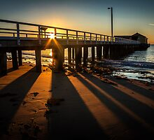 Sunrise at Queenscliff by Julie Begg