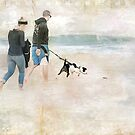 Footprints in the Sand by Susan Werby