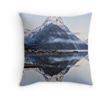 Mitre Peak - Milford Sound Throw Pillow