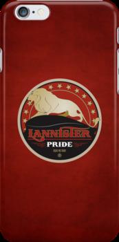 Lannister Pride iPhone Case by liquidsouldes