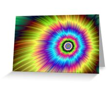 Color Explosion Tie-Dyed Greeting Card