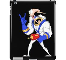 Funniest worm ever iPad Case/Skin