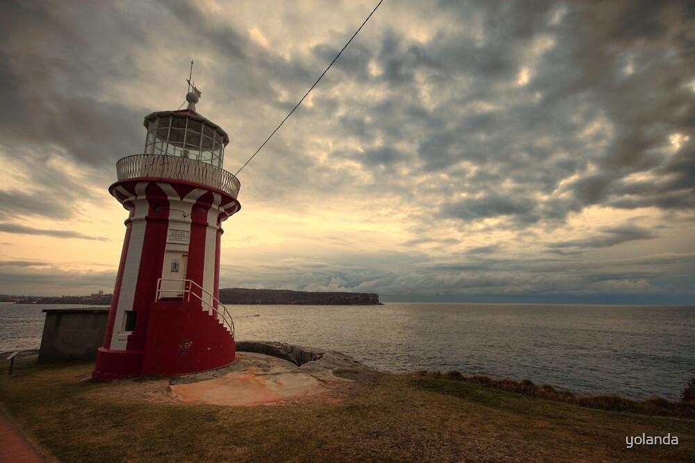 Leaning Lighthouse of Sydney by yolanda