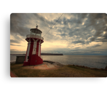 Leaning Lighthouse of Sydney Canvas Print