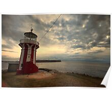 Leaning Lighthouse of Sydney Poster