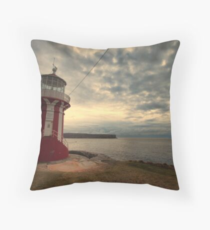 Leaning Lighthouse of Sydney Throw Pillow