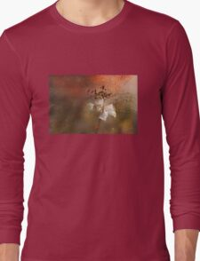 The Abstract World of Flowers Long Sleeve T-Shirt