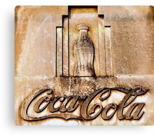 Coca-Cola Bottle Canvas Print