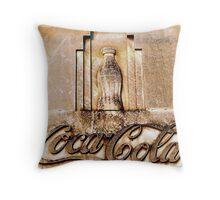 Coca-Cola Bottle Throw Pillow