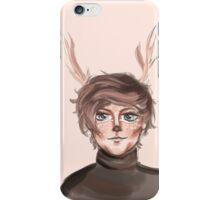 deer louis iPhone Case/Skin