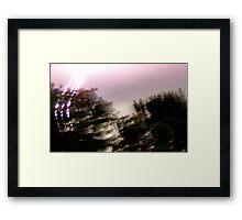 3 Strikes Framed Print