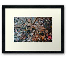 Garbage Gripper Framed Print