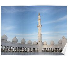 Grand Mosque - Abu Dhabi Poster