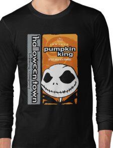 """Halloween Town """"Pumpkin King"""" - Pumpkin Beer Long Sleeve T-Shirt"""