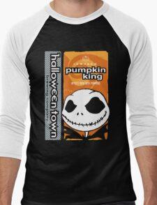 """Halloween Town """"Pumpkin King"""" - Pumpkin Beer Men's Baseball ¾ T-Shirt"""