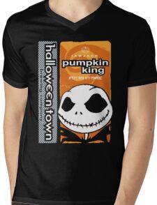 """Halloween Town """"Pumpkin King"""" - Pumpkin Beer Mens V-Neck T-Shirt"""