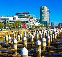 Docklands and Etihad Stadium - Melbourne, Victoria by sjphotocomau