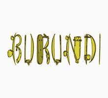 Burundi and traditional tools III Kids Tee