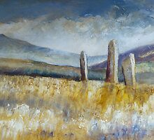 Standing Stones, Arran by Sue Nichol