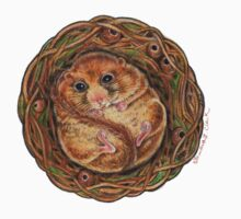 Hazel Dormouse (Muscardinus avellanarius) Kids Clothes