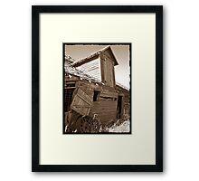 Rustic Memories Framed Print