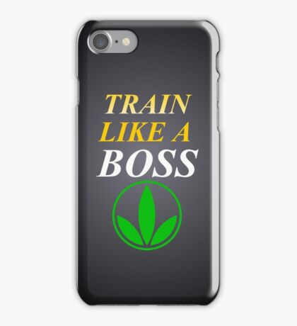 Herbalife Train Like A Boss iPhone Case iPhone Case/Skin