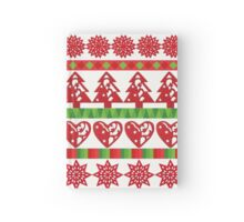 Holiday Pattern Hardcover Journal