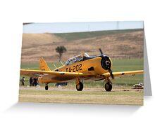 Warbird Greeting Card