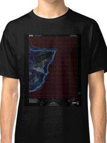 USGS TOPO Map Guam Pati Point 462407 2000 24000 Inverted Classic T-Shirt
