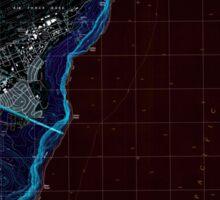 USGS TOPO Map Guam Pati Point 462407 2000 24000 Inverted Sticker
