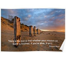 YOUR MISSION ON EARTH Poster
