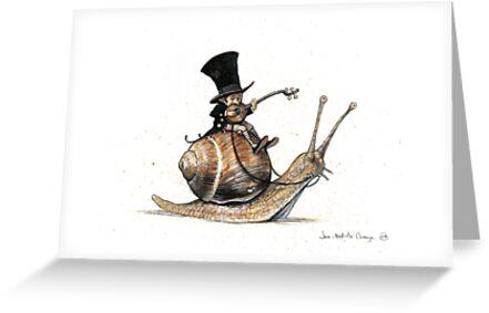 The Tiny Mini-Minstrel by JBMonge
