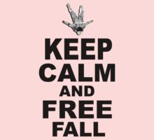 Keep Calm and Freefall Kids Tee
