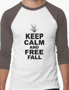Keep Calm and Freefall Men's Baseball ¾ T-Shirt
