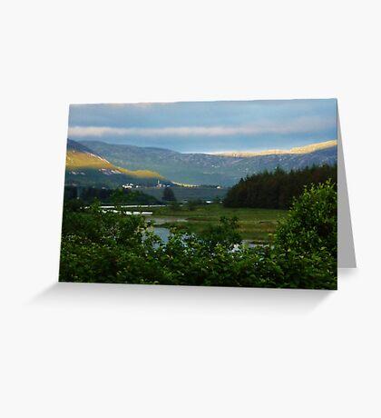 Enchanting Dunlewey Donegal  Greeting Card